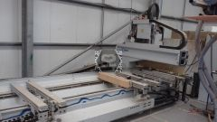 Used Weeke BHC550 CNC Router for Doors 2005 6m
