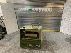 Used SCM S52 Thicknesser