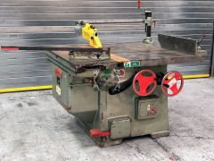 Used Wadkin PP Sliding Table Saw Ex College