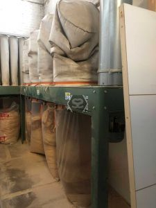 Used 4 Bag Inventair Dust Extractor 2016