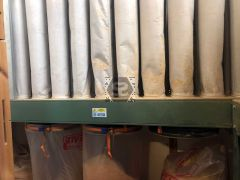 Used Inventair 4 Bag Multifilter Dust Extractor