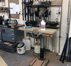 Used SIP F32-20 Floor Drill Press