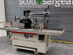 Used SCM TF130 Spindle with Sliding Table + Feed