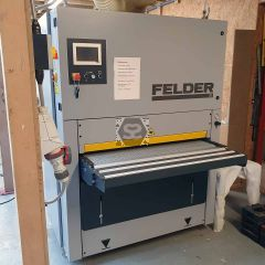 Used Felder FW1102P Wide Belt Sander 2016