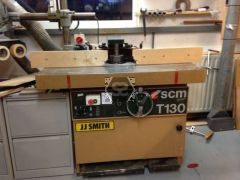 Used SCM T130 Spindle Moulder [as is]