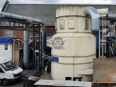 Used Cycloplex Large Dust Extraction System Ex Sit