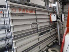 Used Harwi 1550 Piranha Wallsaw 2017