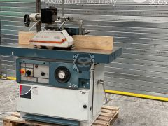 Used Paoloni T140 Spindle Moulder with Feeder
