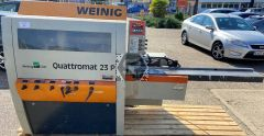 Used Weinig Quattromat 23P Planer