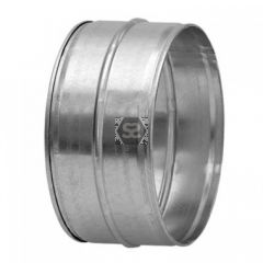 80mm Male Coupling for Joining Ducting with Seal