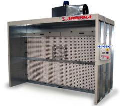 Ardesia Silver Dry Filter Spray Booth 2m