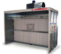 Ardesia Silver Dry Filter Spray Booth 3m