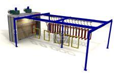 Ardesia Velox Spray Conveyor A=3m B=8m C=30