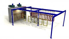 Ardesia Velox Spray Conveyor A=4m B=8m C=35
