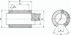 Biesse Linear Table Bearing 29250240