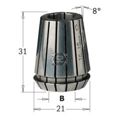 CMT 184 Collet ER20 D=2mm
