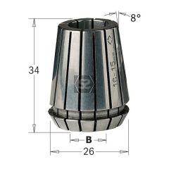 Er25 Precision Collet D=6.35