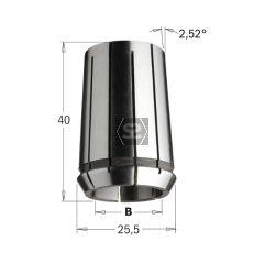 CMT Precision Collet DIN 6388 25.5x40 EOC-16 D=12