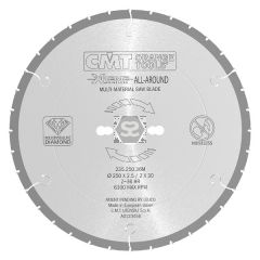 CMT 235 PCD Silent Saw Blade D=250x2.5 d=30 Z=36