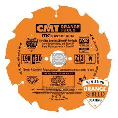 CMT 236 Sawblade PCD D=190 d=30 z=12 B=2.1-2.2