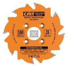 CMT 240 Sawblade Biscuit jointer D=100 d=22 z=8