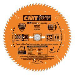CMT 272 ITK Sawblade thin kerf GP D=300 d=30 z=72