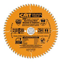 CMT 276 Saw Blade for Aluminium D=210x1.8/1.2x30