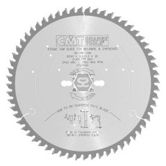 CMT 281 -ve Saw Blade D=260 B=2.5 d=30 Z=64 Tcg