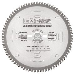 CMT 283 Fine cut-off saw blade D=300 d=30 z=96