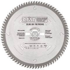 CMT 285 Finishing Saw Blade D=160 B=2.2 d=20 Z=48