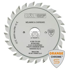 CMT Chrome Scoring Saw Blade 120x2.8-3.6x20 Z12+12