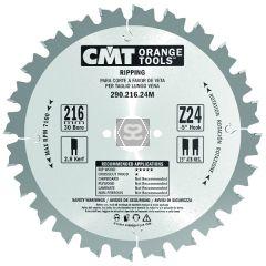 CMT 290 Rip sawblade D=260 B=2.8 d=30 Z=28