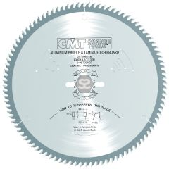 CMT 297 Sawblade TCG D=254x3.2x30 Z=80 -5o Tc
