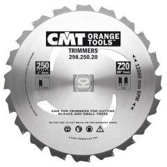 CMT 298 Sawblade Garden Trimmer D=250 d=20 z=20
