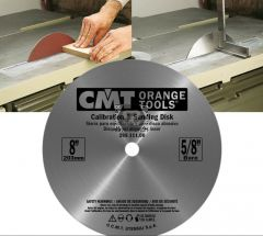 Sanding disc set for table saw 8'-DIAM 5/8' BORE