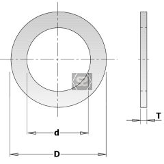 Reduction Ring For Saw Blades D=20-15.87mm