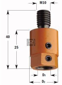 CMT 302 Drill Adaptors S=M10 D=10 RH