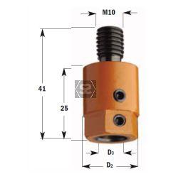 CMT 305 Drill Adaptors S=M10 D=8 RH