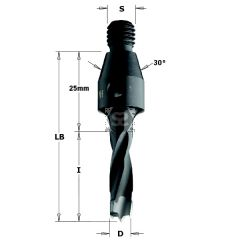 CMT 341 TCT Dowel Drills l=30 S=M10/30 degree