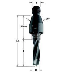 CMT 343 TCT Dowel Drills l=50 S=M10/30 Deg