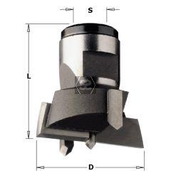 CMT 501 Modular Drill Head D=22X30 S=M12X1 RH