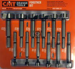 CMT 537 Forstner Drill Bit set 12-PCE KSS S=8-10 R