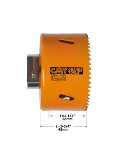 """Hole Saw For Steel/aluminium H=38 D=152 (6"""") Dx"""