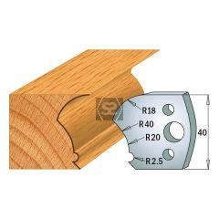 CMT Pr of Limitors 40x4mm Profile 123