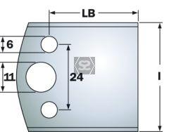 CMT Pr of Limitors 40x4mm Profile 193 Blanks