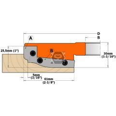CMT Pr of Small Profile A Cutters for 694.013