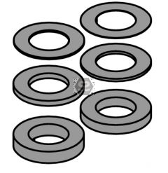CMT 695 15-Piece Spacer Ring Kit ?35/55x10.6 for C