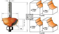 CMT 764 Cavetto Edge Mold Bit TCT S=6 D=25.4X11.5