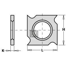 CMT 790.181.00 TC HW Blade 18x18x1.95  Box /10