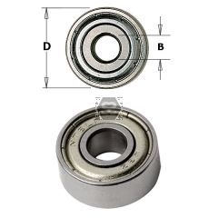 CMT 791 Bearing D=8 D=28mm Sp=9